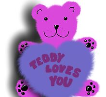 Teddy loves you by ywanka