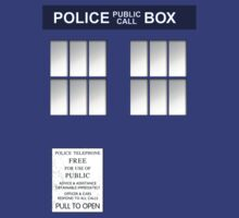 The Blue Police Box - Modern by simonbreeze