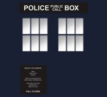 The Blue Police Box - Classic by simonbreeze