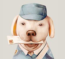 Delivery Dog by AnimalCrew