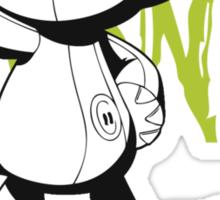 "Kon - Bleach ""Baka"" Sticker"