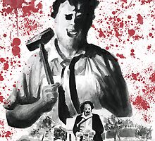 They Call Him Leatherface by kreepykustomz