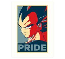 Vegeta's pride! Art Print