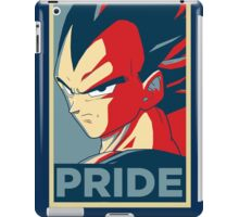 Vegeta's pride! iPad Case/Skin