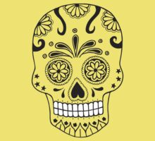 Sugar skull by d1bee