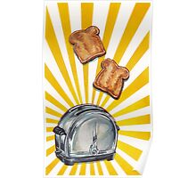 Toast and Toaster Poster