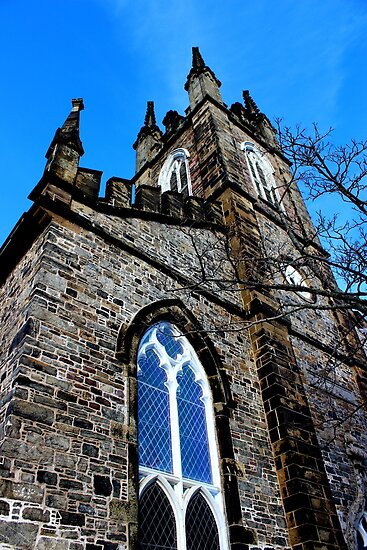 Stone Church I by Kathleen Daley