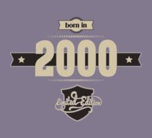 Born in 2000 (Cream&Choco) Kids Clothes