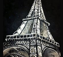 Eiffel Tower by StephRStewART