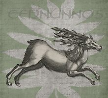 Cernunnos Lord of the Wild Things by GrimalkinStudio