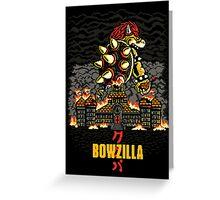 BOWZILLA Greeting Card