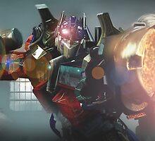 Transformers, Optimus Prime by dnadaviddna