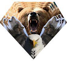 North American Wilderness by BDERK