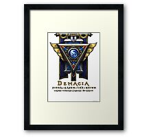 Demacia Framed Print