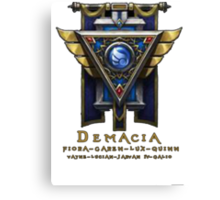 Demacia Canvas Print