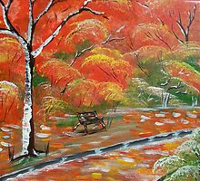 Park Bench by Collin A. Clarke