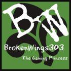 BrokenWings303 Logo - Guy Version by BW303-Gaming