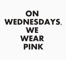 On wednesdays, we wear pink. by kishii0