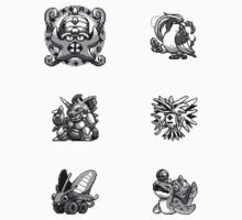 Twitch Plays Pokemon Sprite Stickers by Momodriller