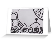 Journeying further from shore Greeting Card