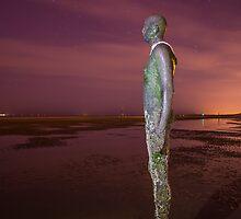 Iron Man Purple Sky by Paul Madden