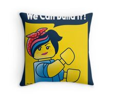 WE CAN BUILD IT! Throw Pillow