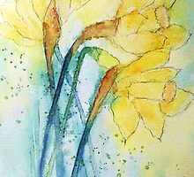 Expressions of Daffodil  by Laura Moore