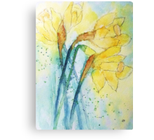 Expressions of Daffodil  Canvas Print