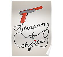 Weapon of Choice (2014 Revamped Version) Poster