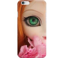 Ginger poetry iPhone Case/Skin