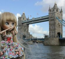 London Bridge and Freyja by QueenOfWater