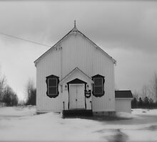 Winterland/ Rural Church...CANADIAN CULTURE CAPTURED by inspiREDmaple