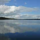 Llandegveth Reservoir by Neill Parker