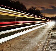Light trails by Daniel Cookson