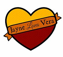 Jayne Loves Vera by TexasMidge