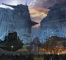 BladeRunner City by dnadaviddna