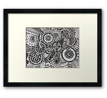 Big Mandala Framed Print