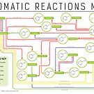 Aromatic Reactions Map by Compound Interest