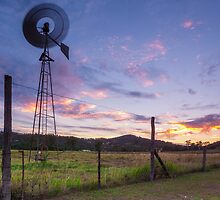 Sunsets and Windmills by McguiganVisuals
