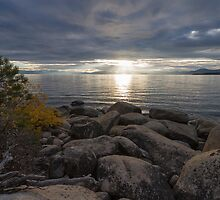Breaking Through - Lake Tahoe by Richard Thelen