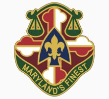 115th Military Police Battalion - Maryland's Finest by VeteranGraphics