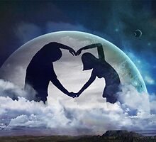 Love in the Moon by Krista May