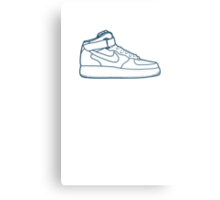 #13 Nike Air Force One Metal Print