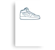 #13 Nike Air Force One Canvas Print