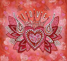 L O V E by Lisa Frances Judd~QuirkyHappyArt