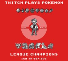 Twitch Plays Pokemon Champions by JM92