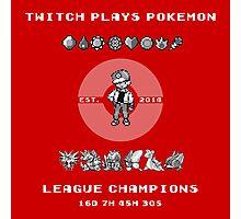 Twitch Plays Pokemon Champions Photographic Print