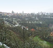 View on Rothenburg by Arie Koene