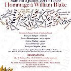 CONCERT :  HOMMAGE A WILLIAM BLAKE  by Andre  Furlan