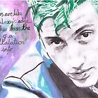 Arctic Monkeys - Alex Turner - Arabella - Watercolour by RockandRoll Maker